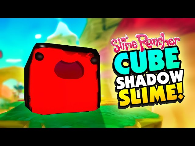 *CUBE* SHADOW SLIMES and SUPER JETPACK! - Slime Rancher Mods