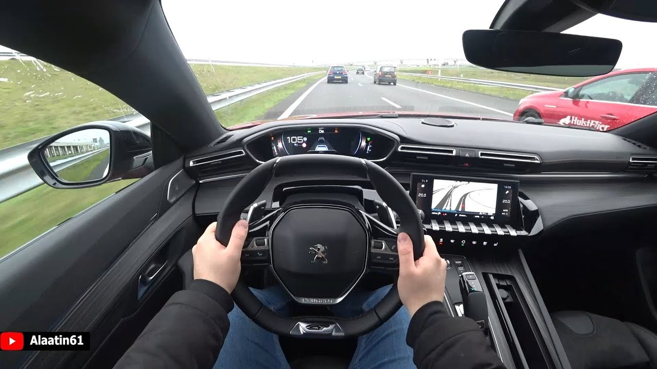 The New Peugeot 508 Gt Line 2020 Test Drive Youtube