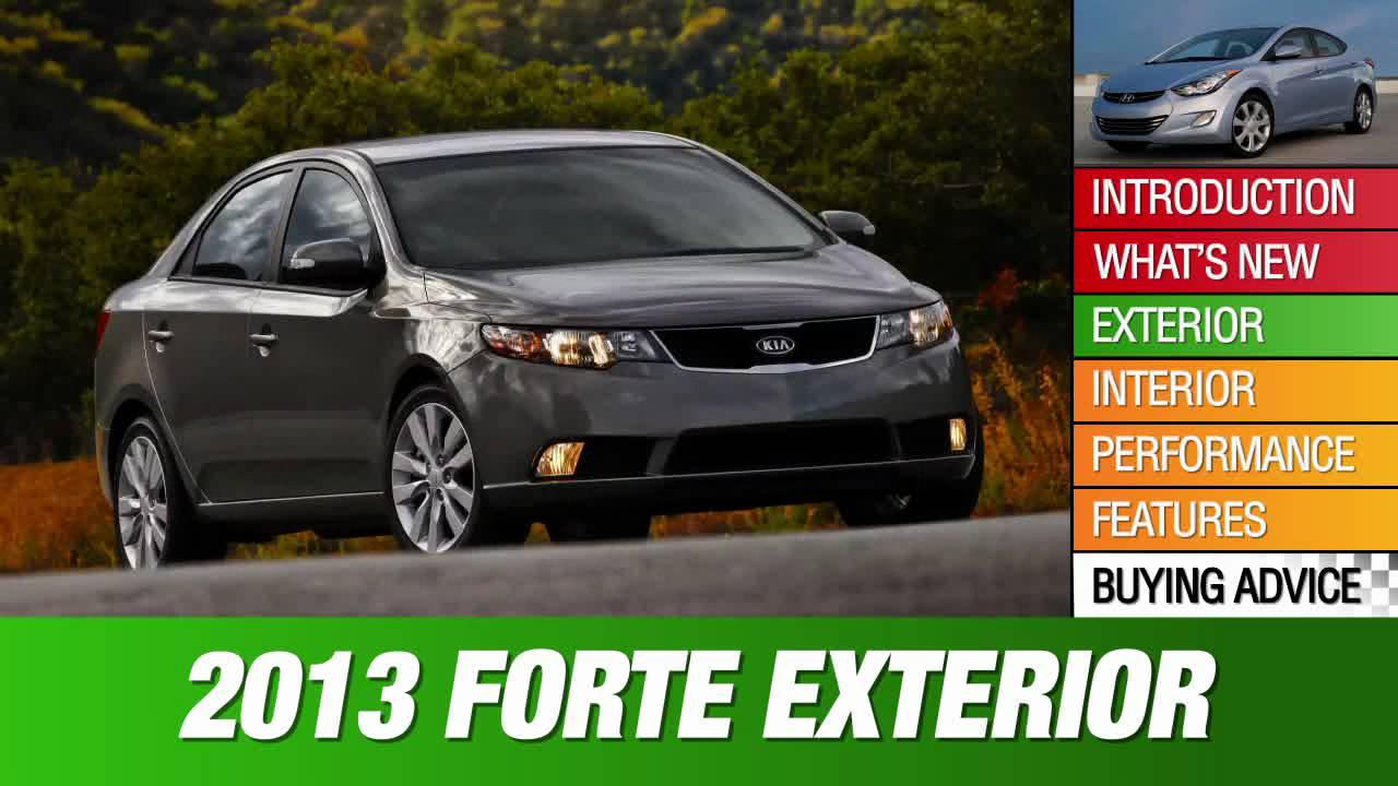 2013 kia forte review youtube. Black Bedroom Furniture Sets. Home Design Ideas