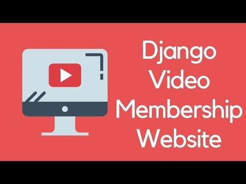 Django Tutorial // Build a Video Subscription Website thumbnail
