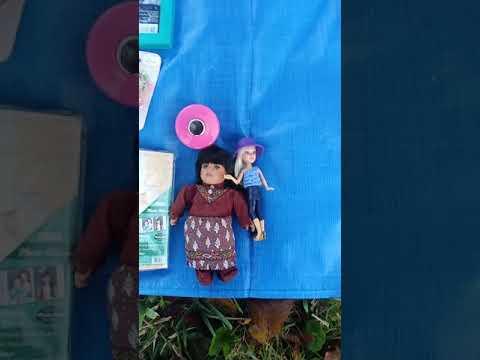 Spoiled dolls yard sale