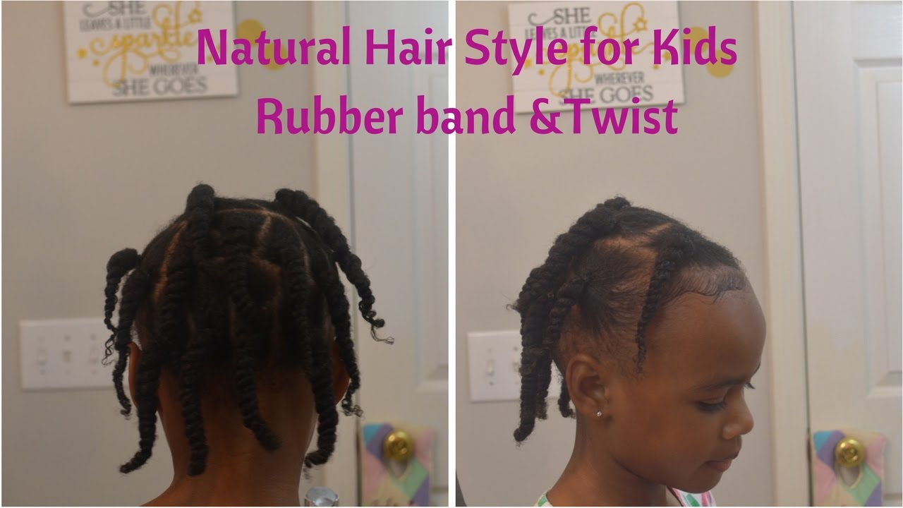Rubber Bands On Natural Hair