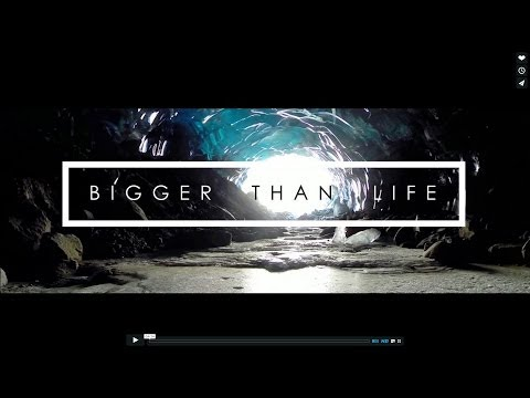 Bigger Than Life - DSLRPros Drone in Ice Caves