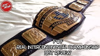 FWF | Real Intercontinental Championship Belt Review