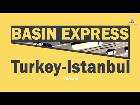 Luxury Real Estate Road In Istanbul || Basin Express