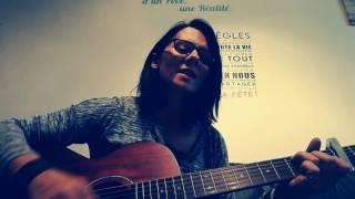 """Guitare cover """" elle est d'ailleurs"""" Pierre Bachelet"""