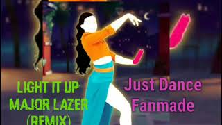 Just Dance Light It Up by Major Lazer Remix