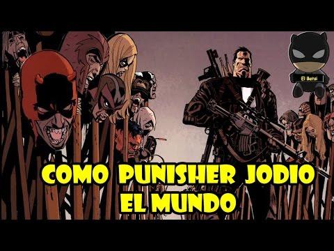 Punisher vs Marvel Universe - El Fin del mundo   COMIC NARRADO