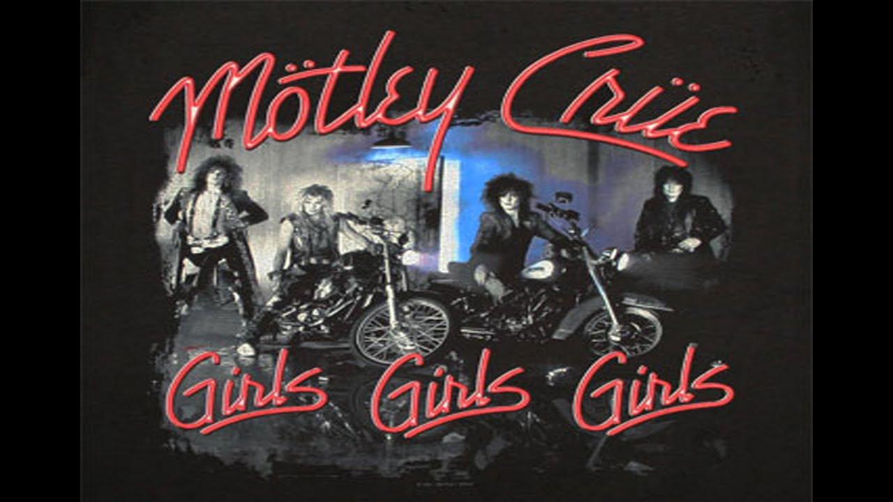 Motley Crue - Girls Girls Girls