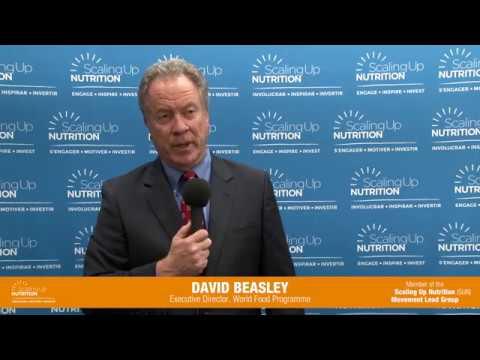 DAVID BEASLEY- Executive Director World Food Programme (WFP)