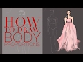 How to Draw Body Proportions Quickly Fashion Illustration on Procreate App