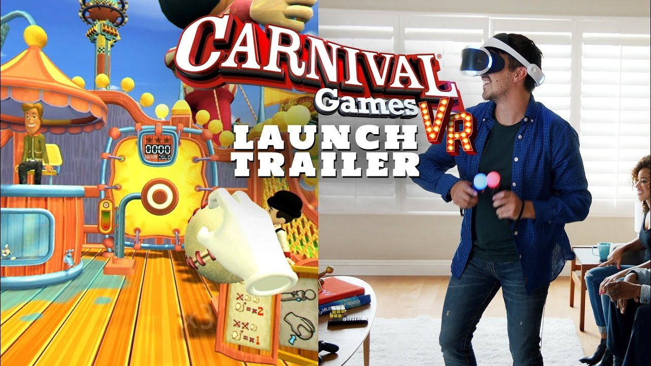 Official Carnival Games VR Launch Trailer (International Version)