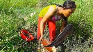 美しい女の子 - カンボジアの伝統的な釣り - 釣りの部分130の素晴らしい釣り thumbnail