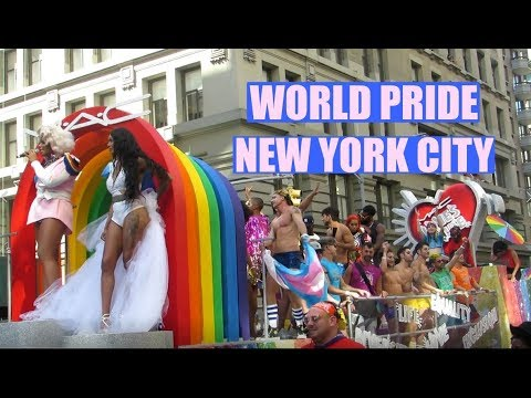 2019 World Pride March & Parade In NYC (Highlights)