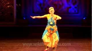 Bharatnatyam performance choreographed by Raksha Singh David