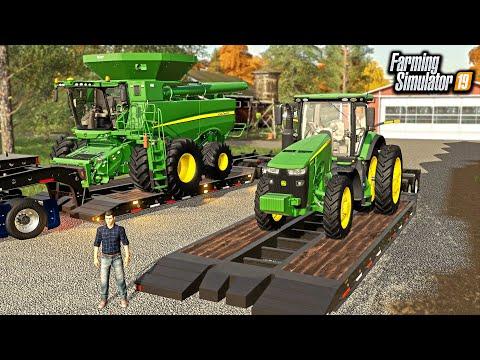 JOHN DEERE DEALER SELLING EQUIPMENT TO NEW FARMER! ($630,000) | FARMING SIMULATOR 2019
