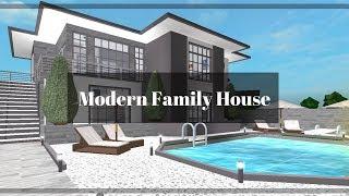 Roblox | Bloxburg: Modern Family House (91k)