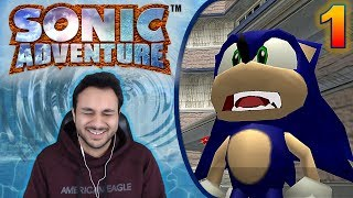 Let's Procrastinate With Sonic Adventure - PART 1