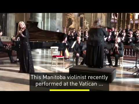 CBC TV feature on my performance at the Vatican