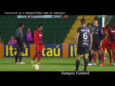Figueirense 1x1 Sport gols e melhores momentos 07/08/16