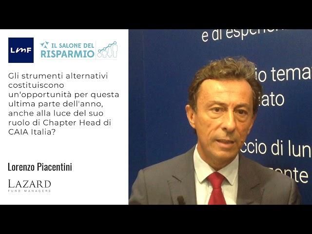 SdR21 - Lorenzo Piacentini (Lazard)