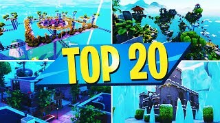 TOP 20 BEST CREATIVE MAPS OF ALL TIME In Fortnite | Fortnite Creative Map CODES