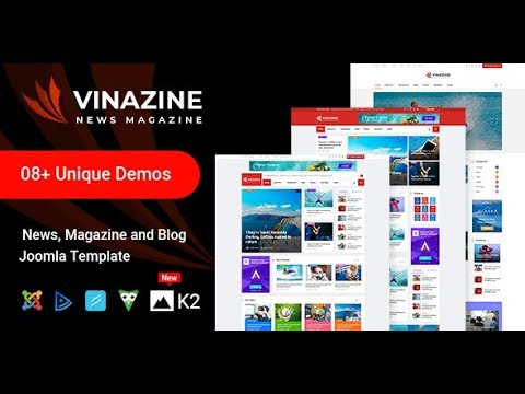 How To Go With Vinazine News/Magazine Joomla Template