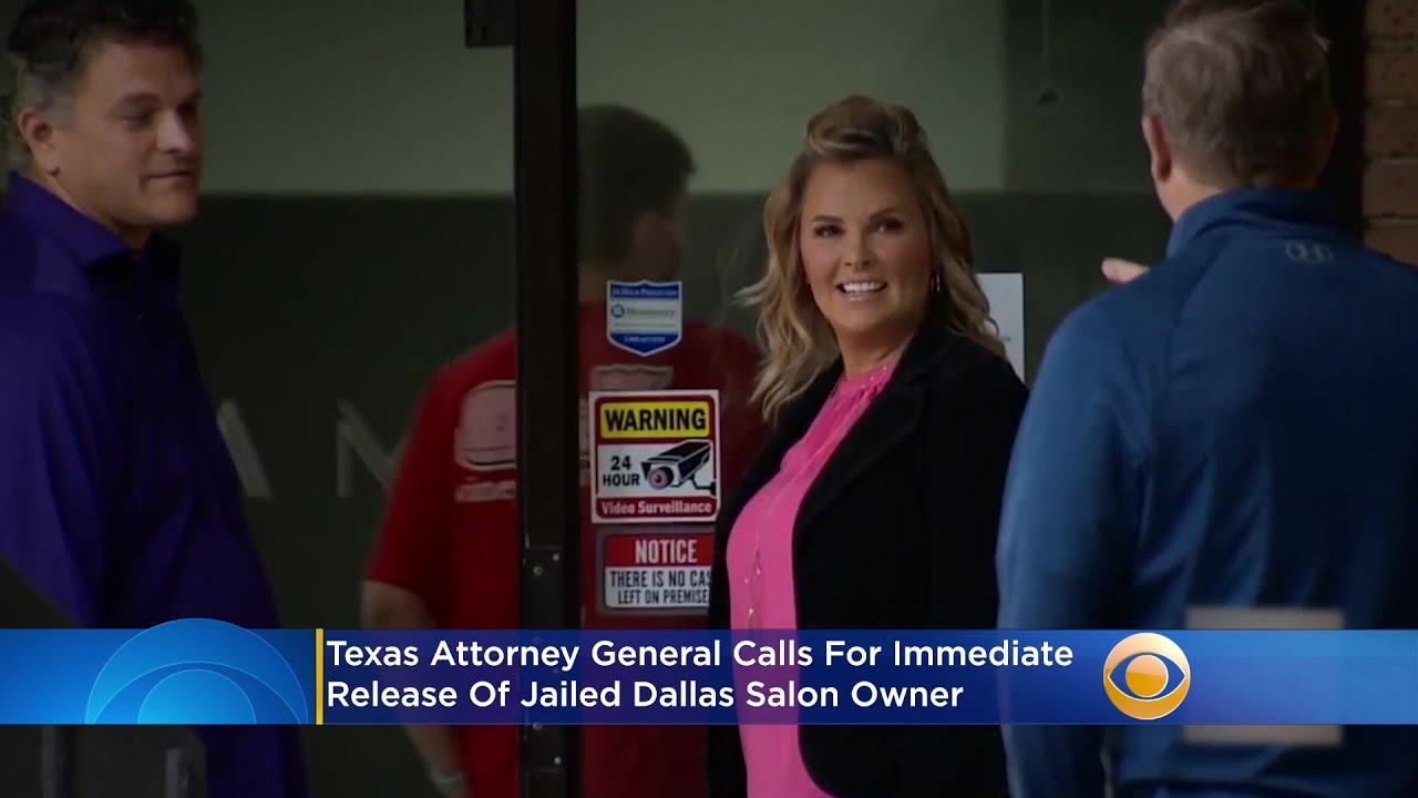 Texas Attorney General Ken Paxton Calls For 'Immediate Release ...