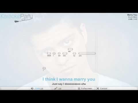 bruno-mars---marry-you---karaoke
