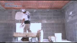 Aplicar Yeso Construcción (Método Rebozado)