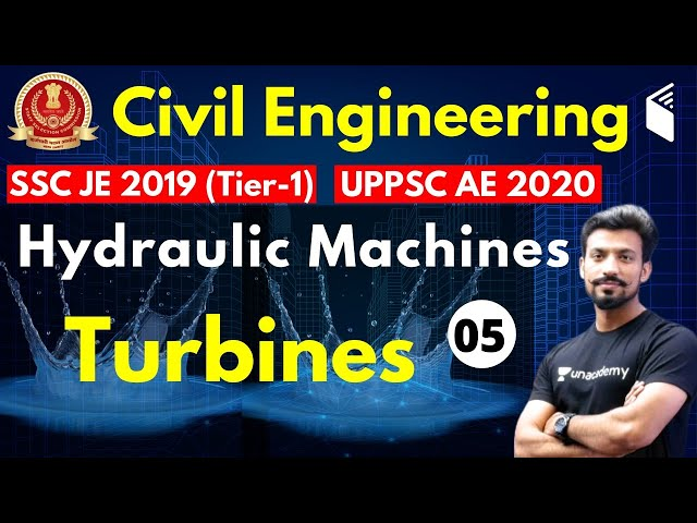 10:00 PM - SSC JE 2019 (Tier-I) | Civil Engg by Sandeep Sir | Hydraulic Machines-Turbines