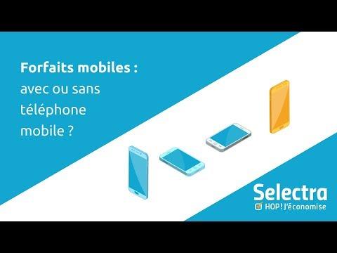Faut Il Choisir Un Forfait Mobile Avec Telephone Ou Un Forfait Sans