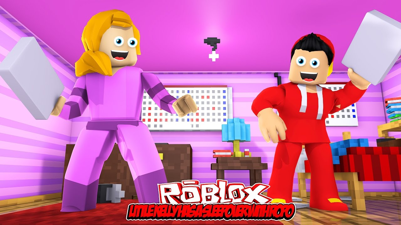 Little Kelly Has A Sleepover With Ropo Roblox Youtube