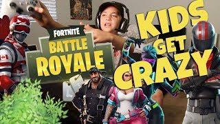 Fortnite Battle Royale Kids Get Crazy (Rocco Piazza)