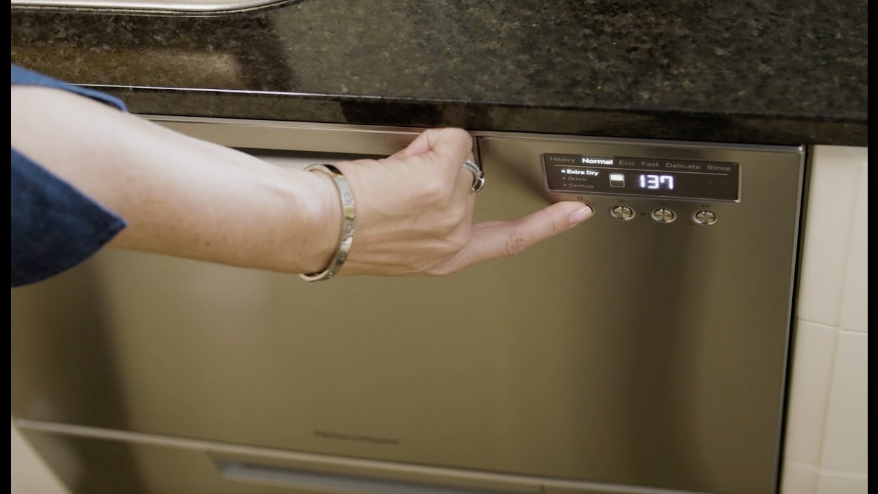Georgie Reviews The Fisher Paykel Double Dishdrawer Dishwasher