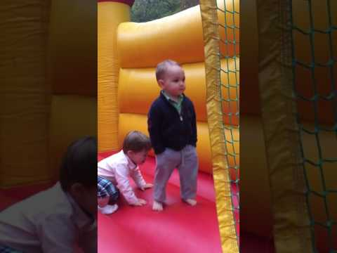 Thumbnail: I will never be as cool as my 2 year old nephew in a bounce house