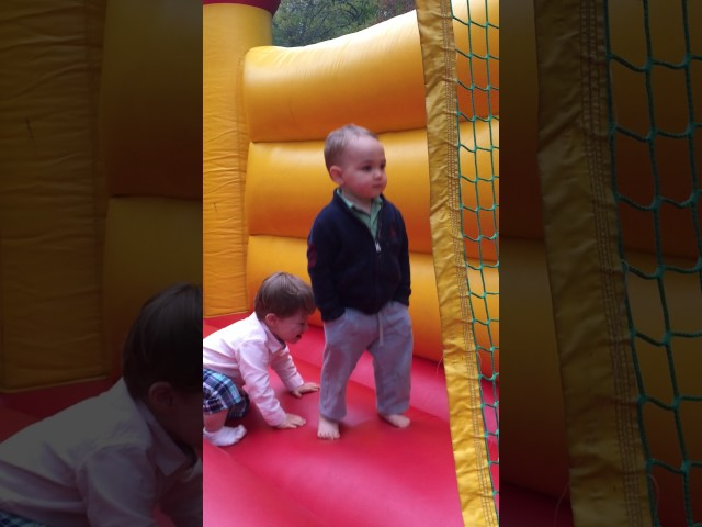 I will never be as cool as my 2 year old nephew in a bounce house