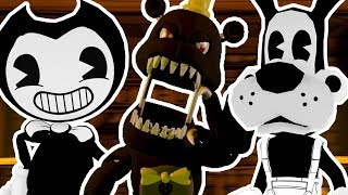 Five Nights at Eth's World 2 (Part 6)    SAVING BENDY AND BORIS THE WOLF!!!