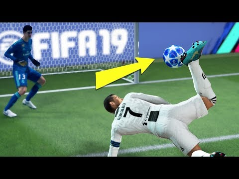 FIFA 19 TOP 10 BEST GOALS! FT. AMAZING FLICKS, SCORPION KICK AND BICYCLE KICK!