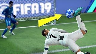 FIFA 19 TOP 10 BEST GOALS! FT. AMAZING FLICKS, SCORPION KICK AND BICYCLE KICK!
