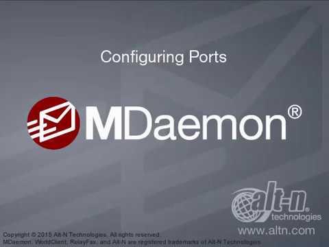 Domain & Server Settings - Configuring Ports