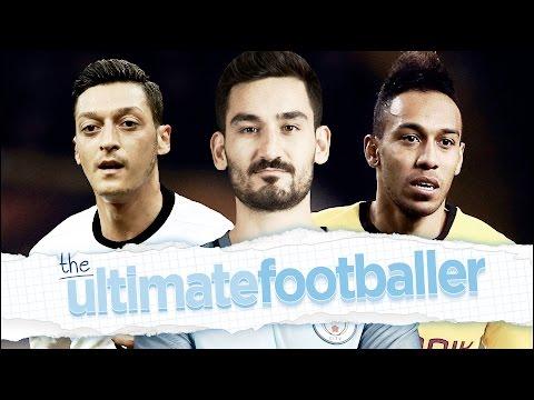 ILKAY GUNDOGAN'S ULTIMATE FOOTBALLER! | Ozil, Aguero & Aubameyang