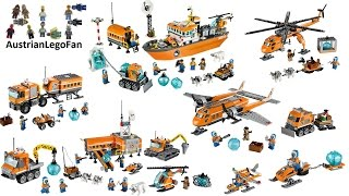 All Lego City Arctic Sets 2014 - Lego Speed Build Review