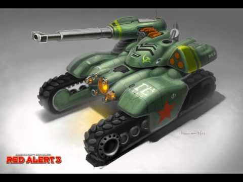 Red alert 3 Quotes: Apocalypse tank, Hammer tank, V4 - YouTube Red Alert 3 Tank