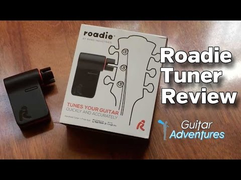Roadie Guitar Tuner and App Review