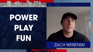 New-look power play has Zach pumped