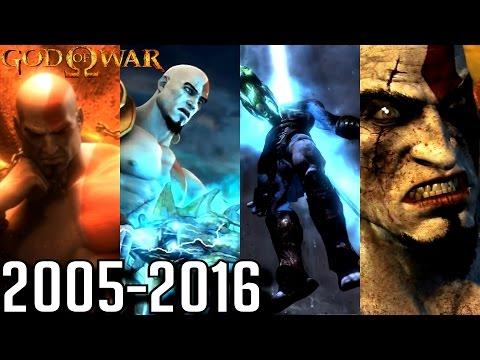 God Of War ALL ENDINGS 2005-2016 (PS2, PS3, PS4, PSP)