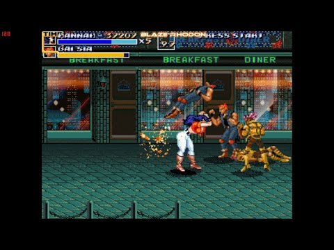 Streets of Rage Remake 5.1 - Bare Knuckle Next Generation
