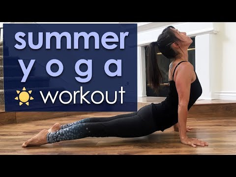 Power Yoga Workout for Your Best Summer Body