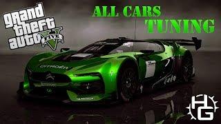 GTA 5 - All Cars Tuned